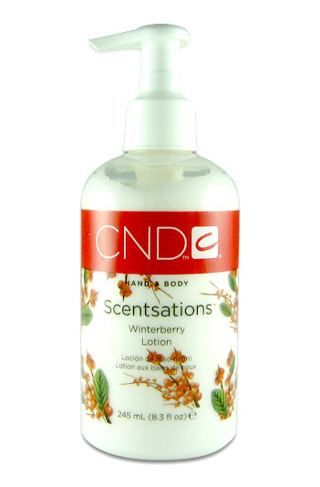 Creative nail design hand lotion scentsations hand body lotion view images winterberry holiday lotion by creative nail design prinsesfo Choice Image